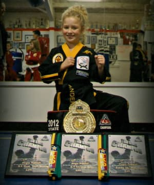 students in kids martial arts  in Amarillo - Harvey's Karate & Fitness