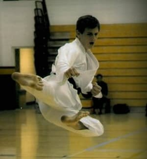 students in adult karate  in Amarillo - Harvey's Karate & Fitness
