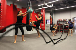 students in circuit training  in Marlborough - Certain Victory Martial Arts & Fitness