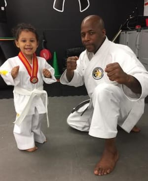 students in tiny tigers   in Omaha - Midwest Taekwondo