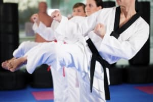 students in adult martial arts  in Ankeny and Johnston - Dojos Family Martial Arts