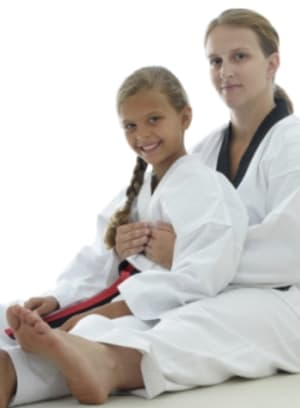 students in family martial arts  in Tri-Cities - U.S. World Class Taekwondo: Tri-Cities