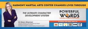 Kids Martial Arts in Jupiter - Harmony Martial Arts Center - New Powerful Words Character Development Program