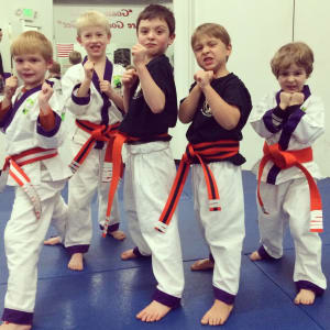 Kids Martial Arts in Boulder - Tran's Martial Arts And Fitness Center - March Lil Dragons Promotion