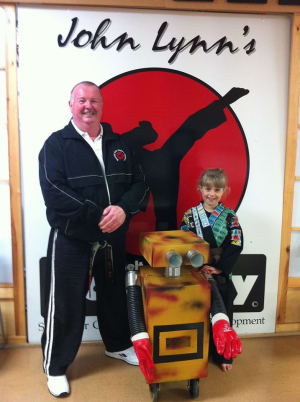 Kids Karate in Rhyl - John Lynns BBA - New Post