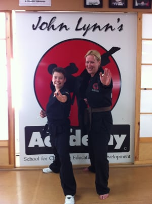 Kids Karate in Rhyl - John Lynns BBA - 1000 kicks challenge for charity