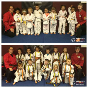 Kids Karate in Midvale, Sandy, and Kearns - West Wind Karate - Awesome Skills Exam