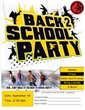Kids Martial Arts in Five Towns - Warren Levi Martial Arts & Fitness - FIVE TOWNS BACK TO SCHOOL PARTY