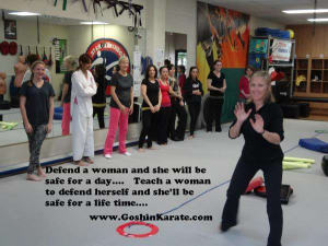 Kids Karate in Scottsdale - Goshin Karate & Judo Academy - Self Defense Class for Women