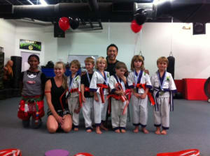 Kids Martial Arts in Boulder - Tran's Martial Arts And Fitness Center - Congrats to Our Lil Dragons Belt Testers