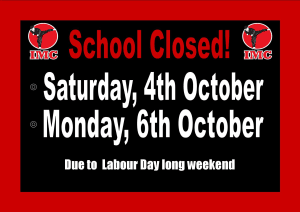 Kids Martial Arts in St Clair, Kemps Creek & Hoxton Park - International Martial Arts Centres - IMC Closed - Labour Day long weekend