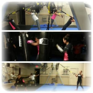 Kids Martial Arts in Chicago - Ultimate Martial Arts - TRX - Heavy Bag