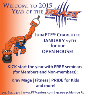 Kids Martial Arts in Charlotte - FTF® Fitness and Self-Defense - Resolution Launch 2015