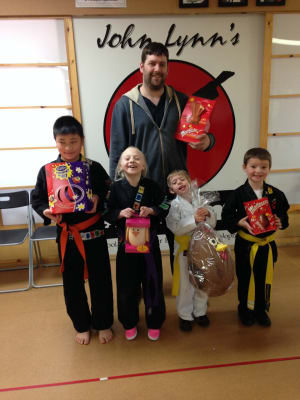 Kids Karate in Rhyl - John Lynns BBA - The Eggstatic winners