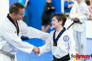 Kids Martial Arts in Jupiter - Harmony Martial Arts Center - Harmony Black Belt to star on Broadway