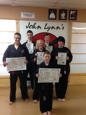 Kids Karate in Rhyl - John Lynns BBA - BLACK BELT SUCCESS