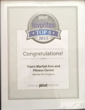 Kids Martial Arts in Boulder - Tran's Martial Arts And Fitness Center - Trans Vote One of the Top 5 In Colorado