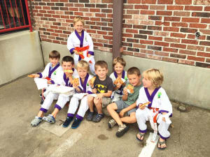 Kids Martial Arts in Boulder - Tran's Martial Arts And Fitness Center - Successful Back to School Pizza Party
