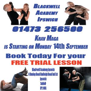 Kids Karate in Ipswich - Blackwell Academy - Krav Maga  Starting on the 14th September