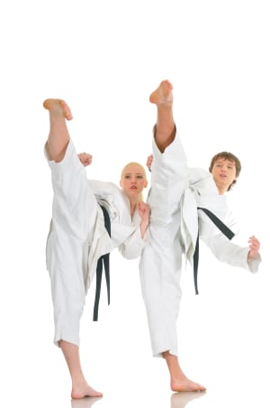 Kids Martial Arts in Westminster - The Dojo Of Karate - Students Take On 1000 Kicks Challenge To Raise Money For Charity