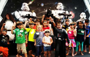 Kids Karate in Scottsdale - Goshin Karate & Judo Academy - Star Wars Birthday Parties - Scottsdale