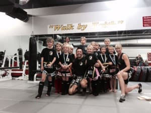 Kids Martial Arts in Boulder - Tran's Martial Arts And Fitness Center - Congrats to our Kids Muay Thai students on a Successful Belt Promotion