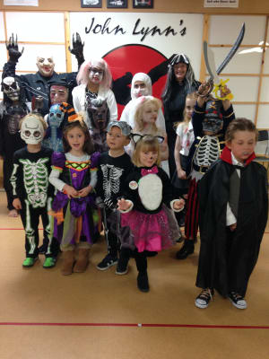 Kids Karate in Rhyl - John Lynns BBA - Dragon & Juniors Halloween