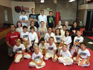 Kids Martial Arts  in Westminster - The Dojo Of Karate - Martial Arts Students Raise Nearly $2,000 For Growing Home