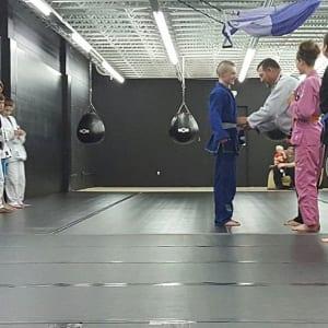 Kids Martial Arts in Kansas City - Brass Boxing & Jiu Jitsu - Youth Belt Testing for Brazilian Jiu Jitsu in Kansas City