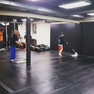 Kids Martial Arts in Kansas City - Brass Boxing & Jiu Jitsu - Father and son train together in Kansas City