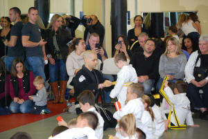 Kids Martial Arts in East Northport - Trigon Academy Of Martial Arts - Belt Testing Friday 12/4/15