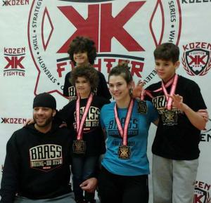 Kids Martial Arts in Kansas City - Brass Boxing & Jiu Jitsu - Families that train together.....