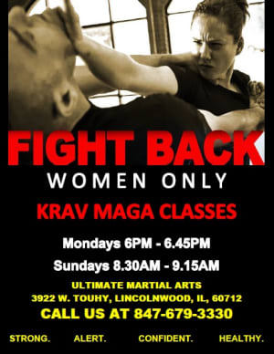 Kids Martial Arts in Chicago - Ultimate Martial Arts - Krav Maga Chicago Women's Only Class