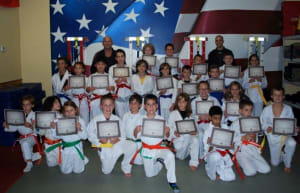 Kids Martial Arts in East Northport - Trigon Academy Of Martial Arts - Belt Testing Friday 1/15