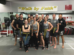 Kids Martial Arts in Boulder - Tran's Martial Arts And Fitness Center - Congrats January Adult Muay Thai Kickboxing Testers!