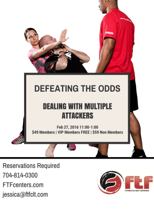 Kids Martial Arts in Charlotte - FTF® Fitness and Self-Defense - 2016 Seminar Series Event Feb 27th