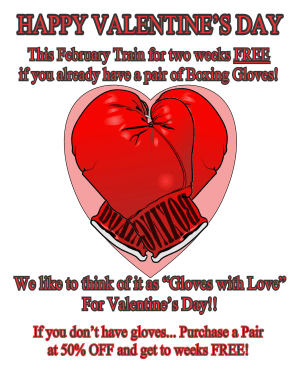 Arts and Leadership Academy Valentines Day KickBoxing Deal