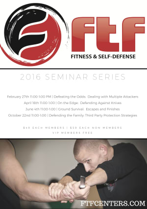 Kids Martial Arts in Charlotte - FTF® Fitness and Self-Defense - 2016 Seminar Series