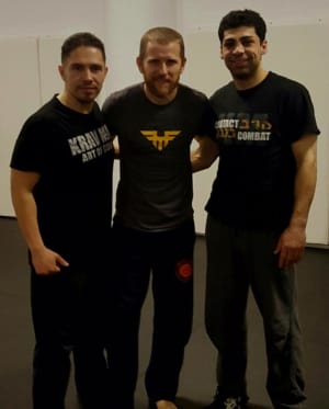 Kids Martial Arts in Chicago - Ultimate Martial Arts - Instructors Sergio and George