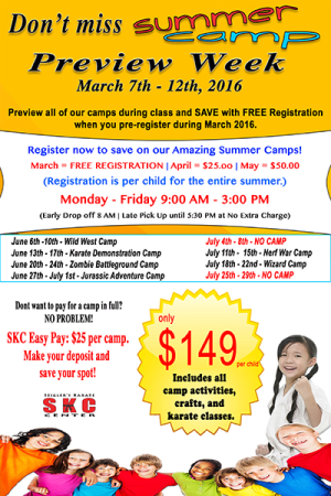 Kids and Teens Karate in Martinez - Seigler's Karate Center - Last day to register FREE for summer camp