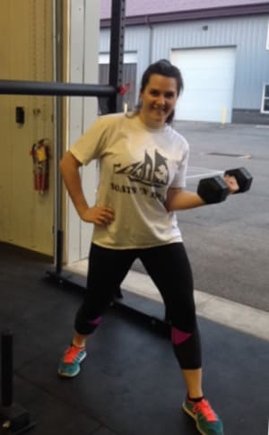 CrossFit in State College - CrossFit Nittany - Tuesday, April 26 - Meet Our New Member: Raylee Giles