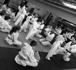 Kids Martial Arts in Chicago - Ultimate Martial Arts - Taekwondo Test May 8th 2016