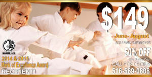 Kids Martial Arts in Five Towns - Warren Levi Martial Arts & Fitness - TRAIN ALL SUMMER For ONLY $149