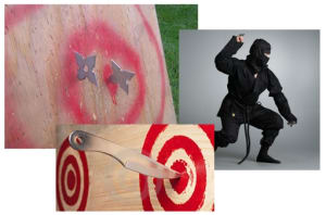 Kids Martial Arts in Bradenton - Ancient Ways Martial Arts Academy - Star and Knife Throwing Seminar