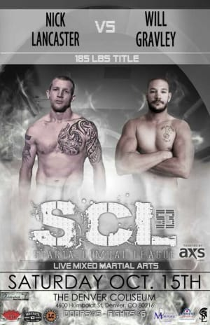 Kids Mixed Martial Arts in Englewood - Factory X Muay Thai - Nick Lancaster will be fighting for SCL 10/15 live at the Denver Coliseum!