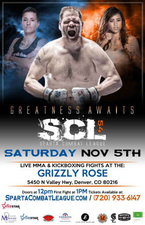 Kids Mixed Martial Arts in Englewood - Factory X Muay Thai - Grace Cleveland returns to the SCL cage 11/5!