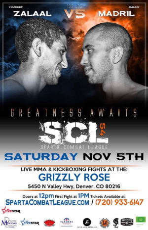 Kids Mixed Martial Arts in Englewood - Factory X Muay Thai - Youssef returns to the SCL cage 11/5!