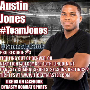 Kids Mixed Martial Arts in Englewood - Factory X Muay Thai - Austin Jones makes his Dynasty Combat Sports debut 12/10!