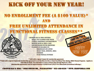 Crispim BJJ & MMA Kick Off The New Year with Martial Arts & Fitness!