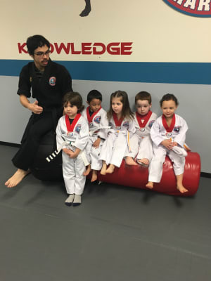 Kids Martial Arts in Naperville - PRO Martial Arts Naperville - Little Rhinos Belt Test - December